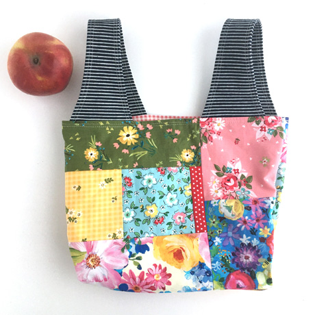 Small Patchwork Bag Multi Color