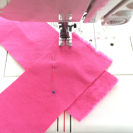 Diagonal Seam Tape Cluck Cluck Sew