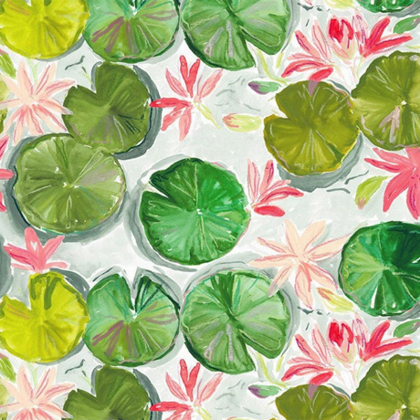 Dear Stella Lily Pads from the Orangerie Collection