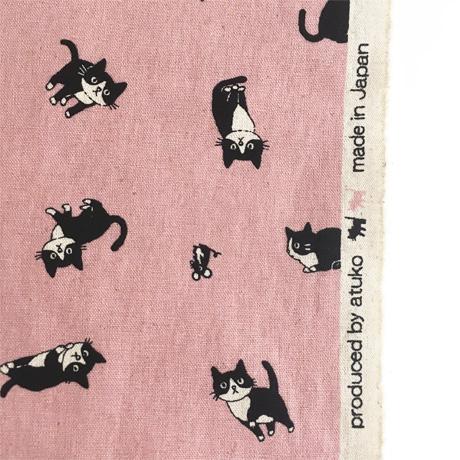 Atuko Hishiei Cotton Linen Canvas Fabric